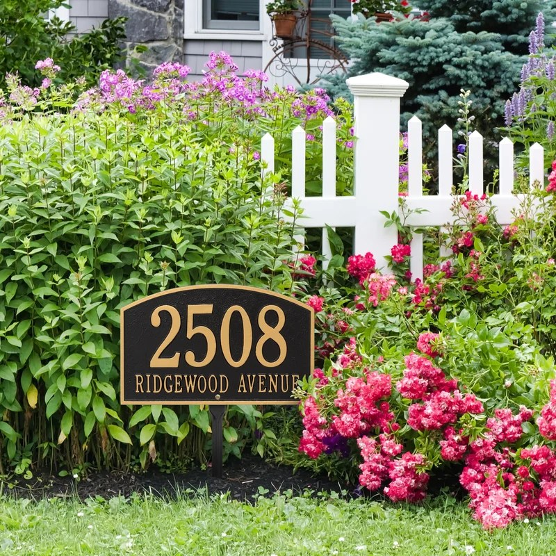 Address Signs Residential