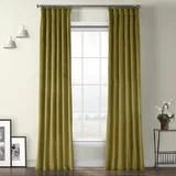 olive green curtains joss main