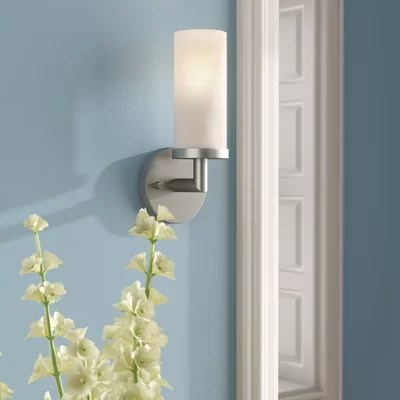 Non Hard Wired Wall Sconce | Wayfair on Non Wired Wall Sconces id=67209