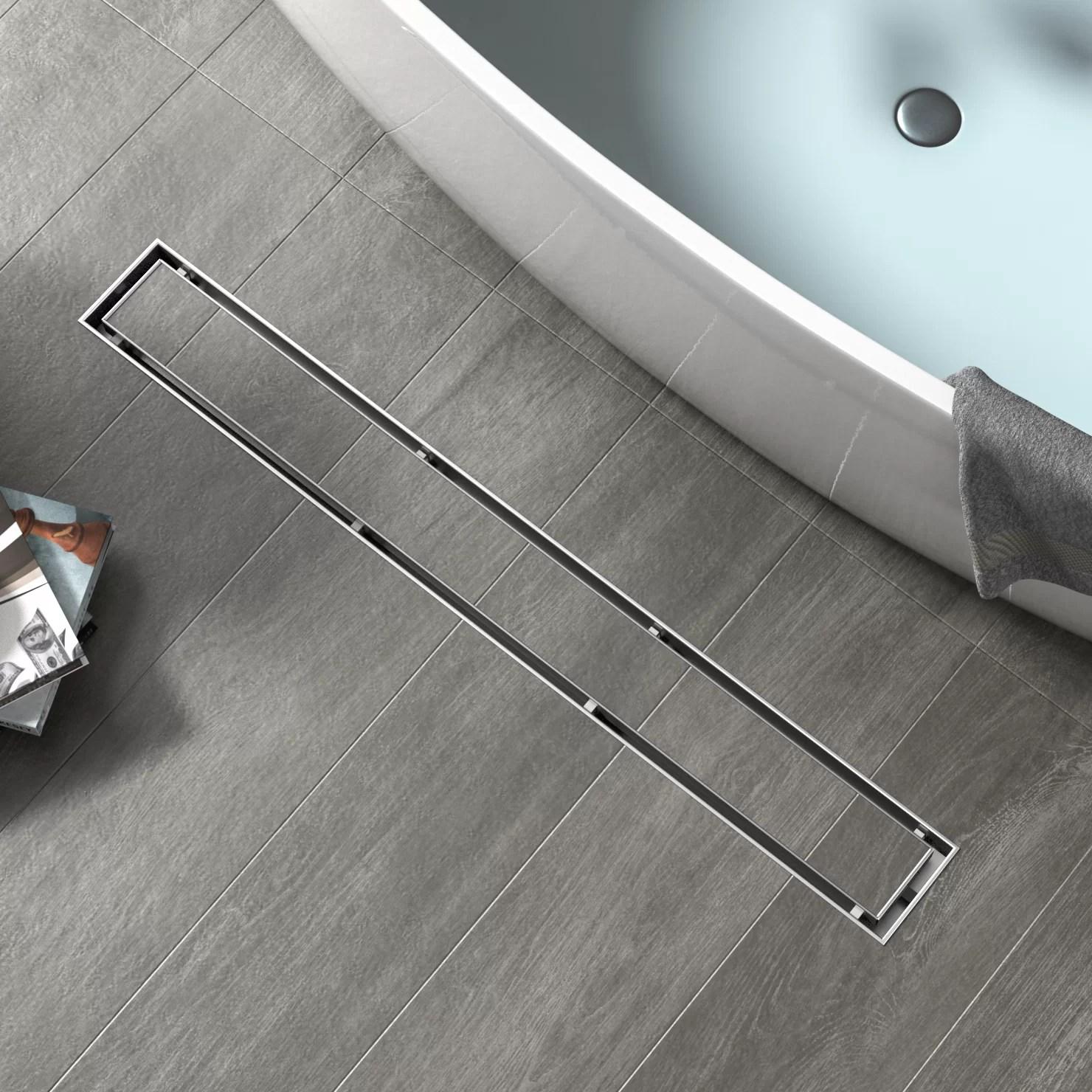 tile in shower drain