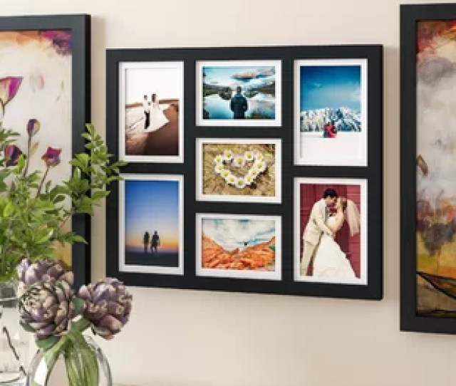 Colley 7 Opening Hanging Picture Frame