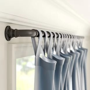 hoffman 1 single curtain rod