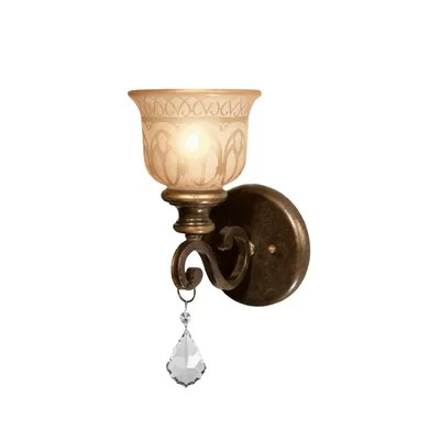 Non Hard Wired Wall Sconce | Wayfair on Non Wired Wall Sconces id=12736