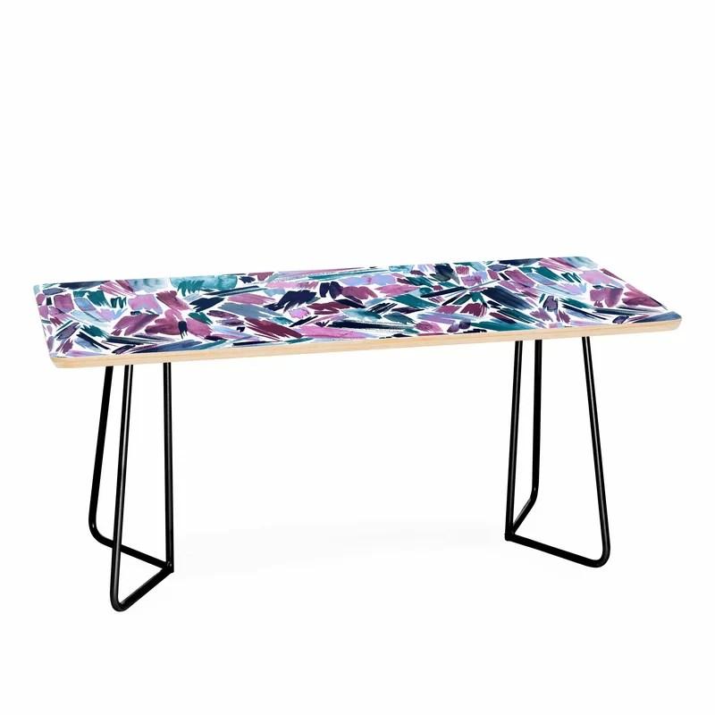 artsy strokes coffee table