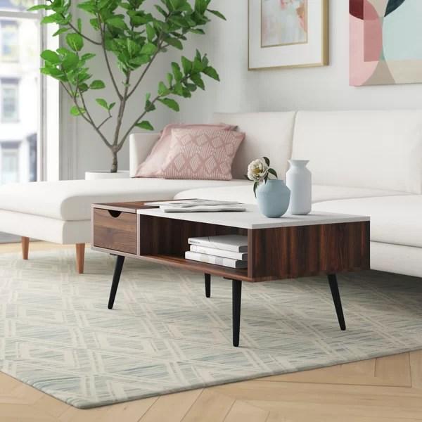 odd shaped coffee table