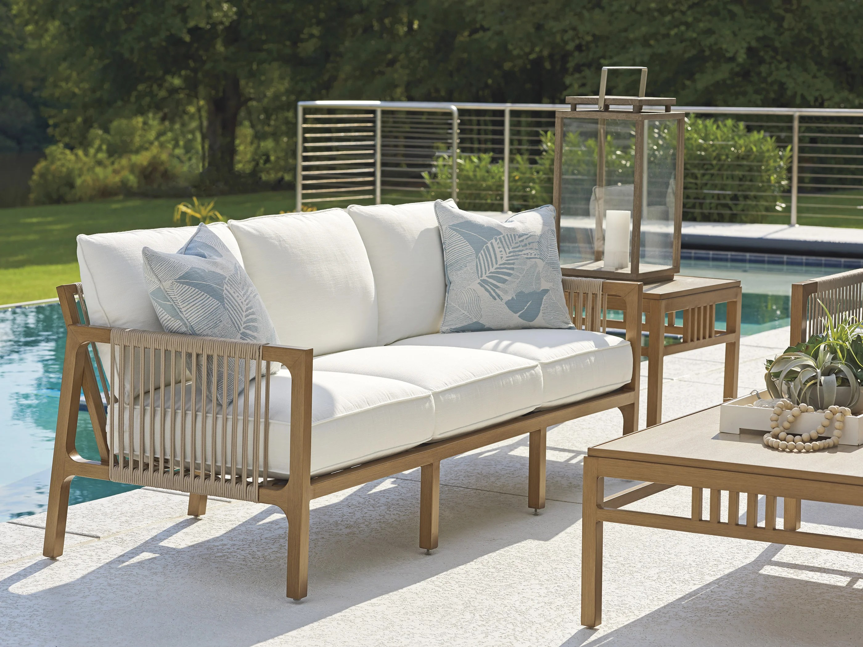 https www wayfair com outdoor pdp tommy bahama outdoor st tropez patio sofa with cushions sbqz1276 html