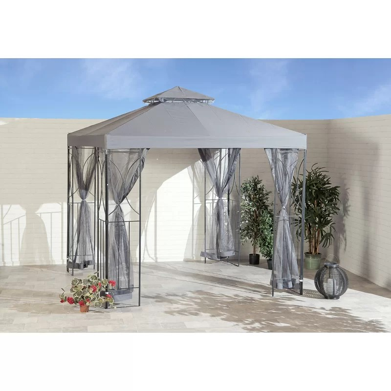 SunTime Outdoor Living Polenza 8 Ft. W x 8 Ft. D Metal ... on Suntime Outdoor Living  id=73158