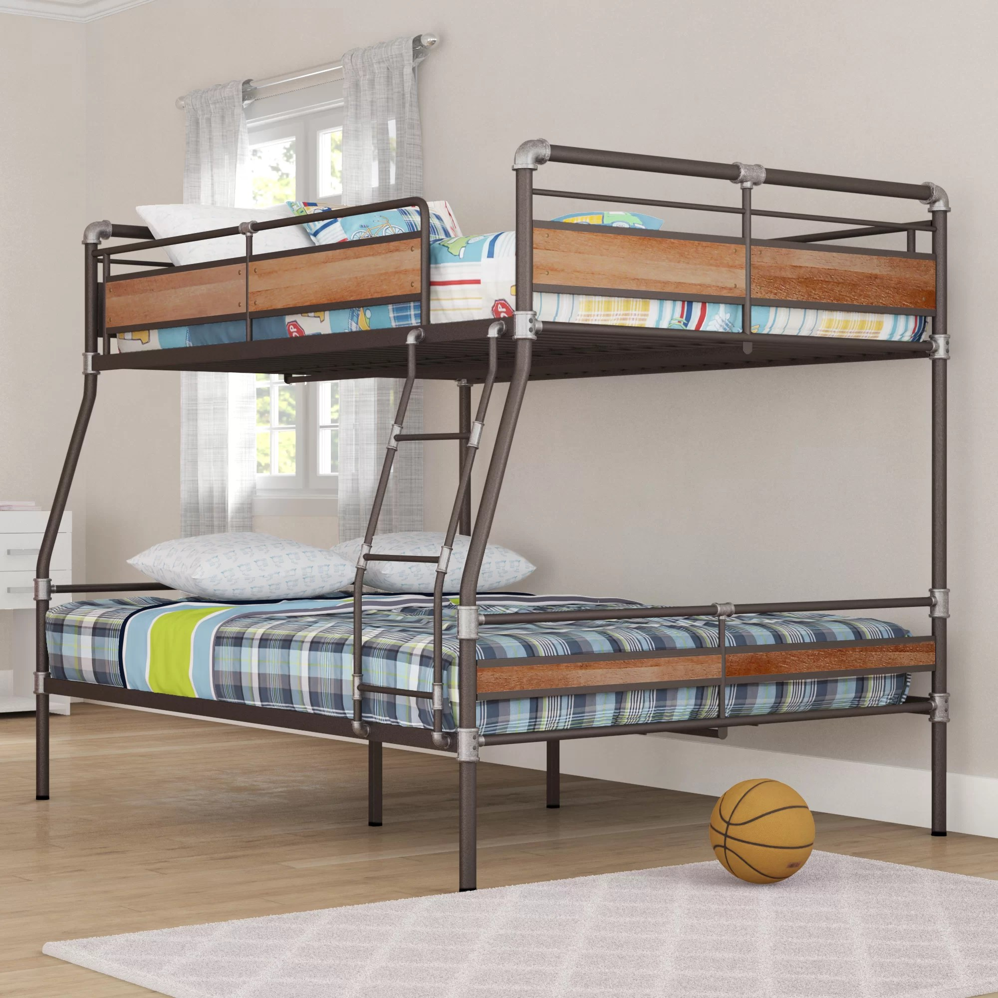 Bunk Bed With Queen On Bottom Marcuscable Com