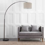 Ebern Designs Changir 81 Arched Floor Lamp Reviews