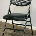 Cosco Home And Office Commercial Vinyl Padded Folding Chair