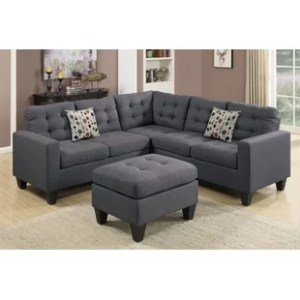 Sectionals You ll Love   Wayfair Pawnee Sectional with Ottoman