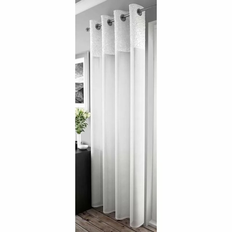 fulton crushed voile sheer curtain