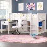 Twin Loft Beds With Desks Wayfair