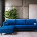 Mercer41 Labombard 100 8 Velvet Sofa Chaise Reviews Wayfair