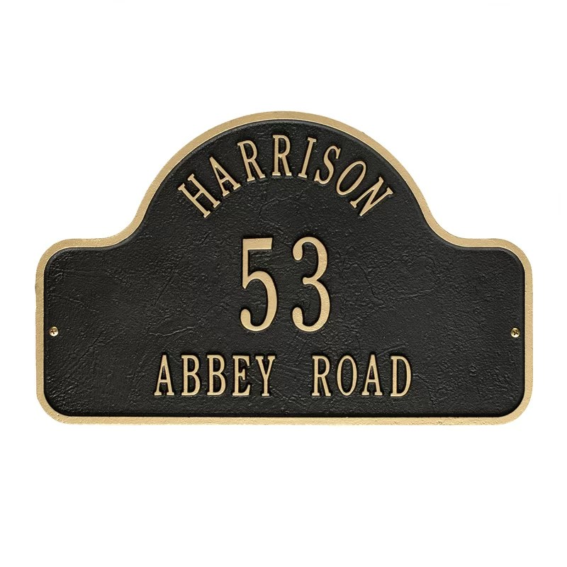 Address Signs For Homes With Pine