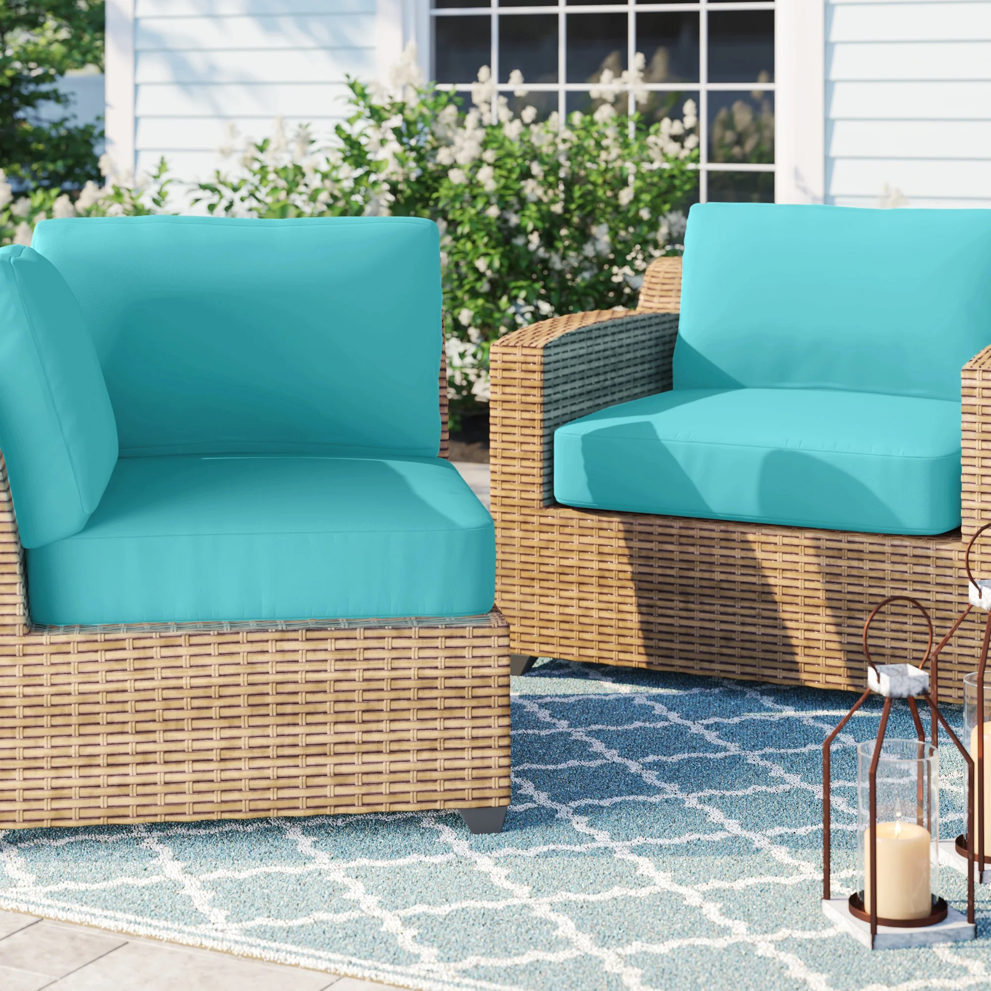 cushion covers patio furniture cushions