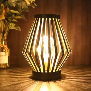 8 7 battery powered outdoor table lamp