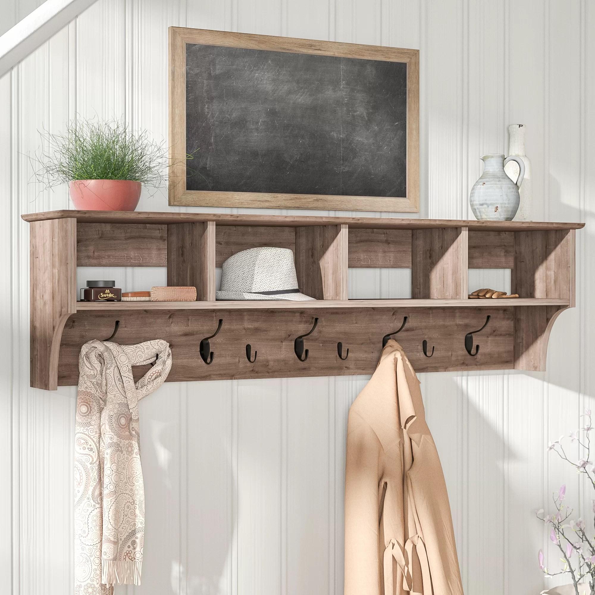 manzanola wall mounted coat rack