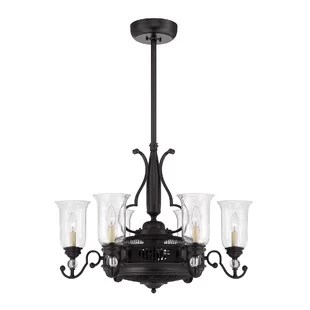 Nantie 6 Light Candle Style Chandelier