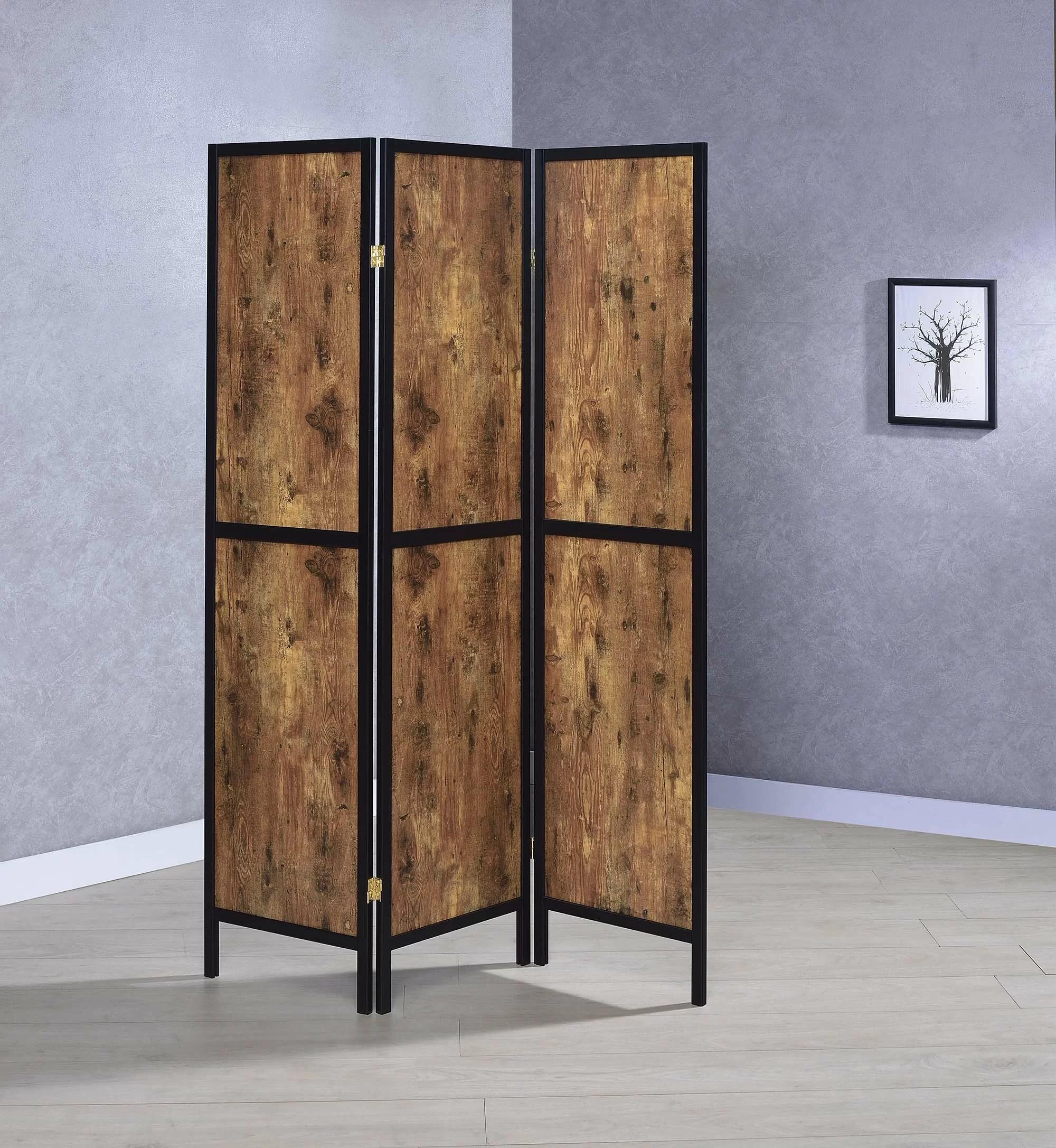 Williston Forge Carraway Folding Screen 3 Panel 70 25 Room Divider Reviews Wayfair