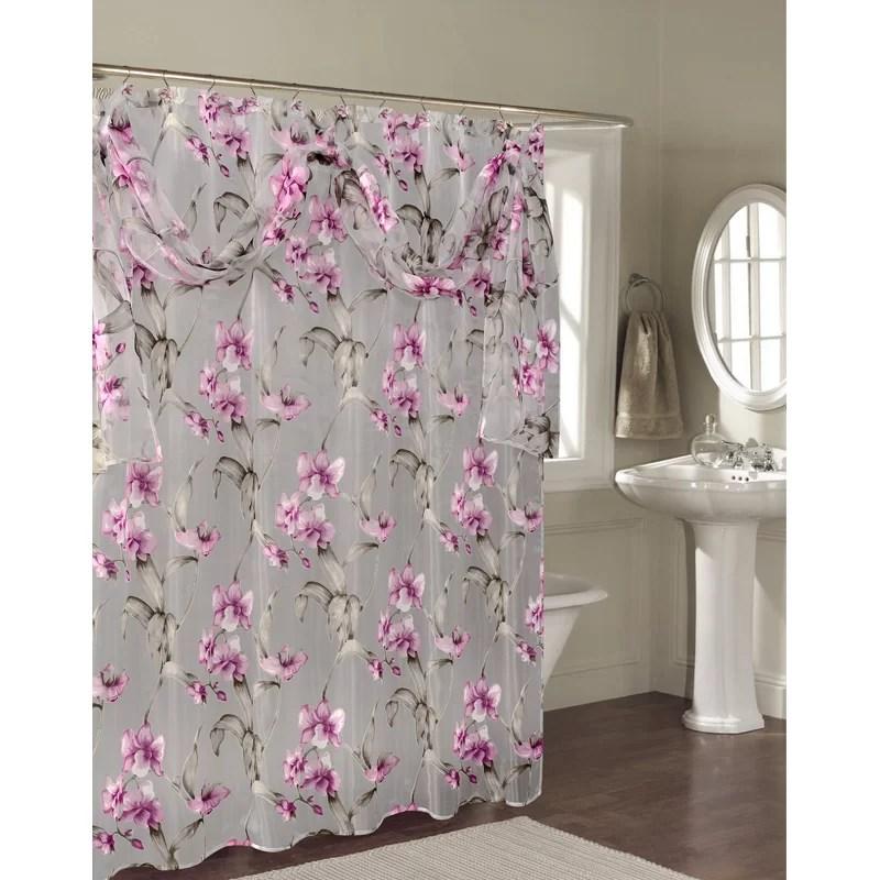 janette single shower curtain