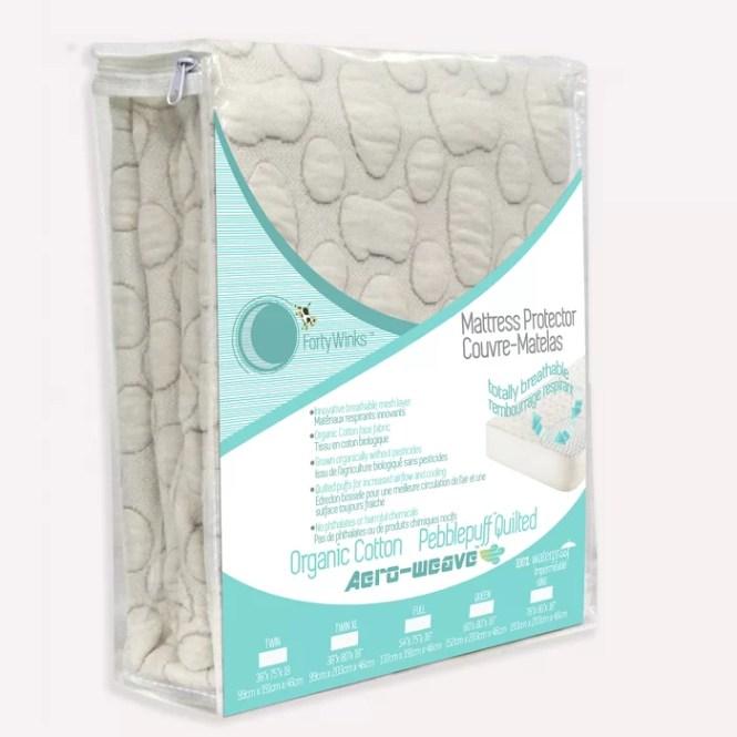 Pebble Puff Hypoallergenic Mattress Protector