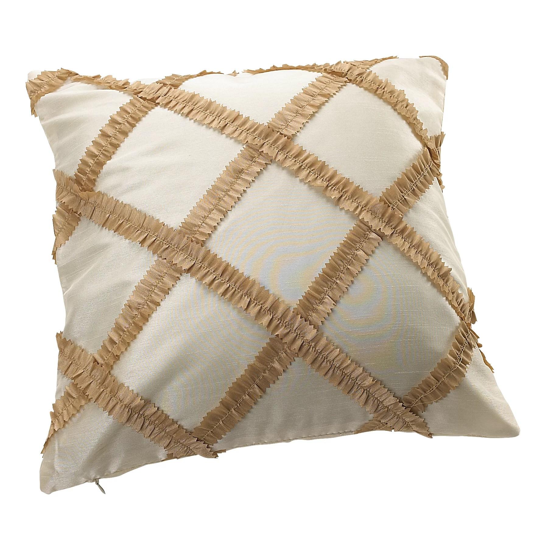 daenerys vintage embroidered diamond design decorative pillow cover