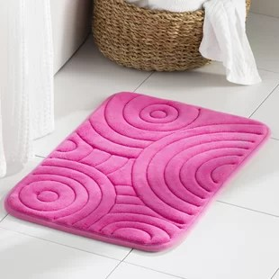 Wayfair Basics Circles Bath Rug