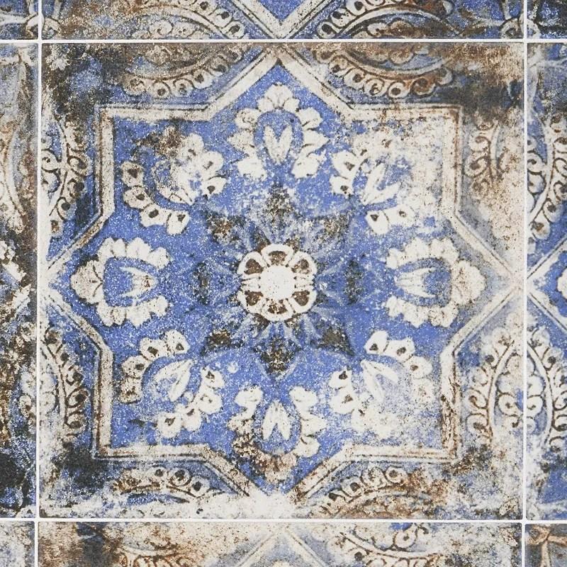 wallabee 8 x 8 porcelain spanish wall floor tile