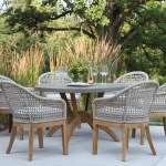 Beachcrest Home Rex 7 Piece Teak Dining Set With Cushions Reviews