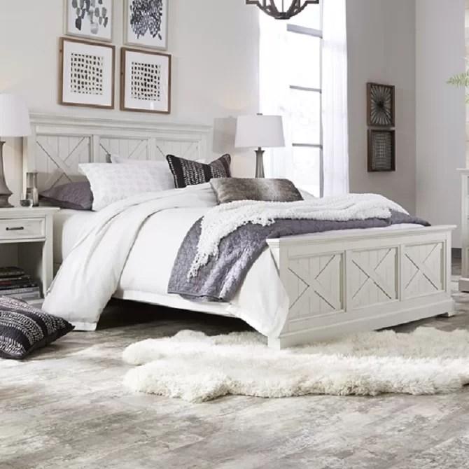 lizotte solid wood standard 3 piece bedroom set