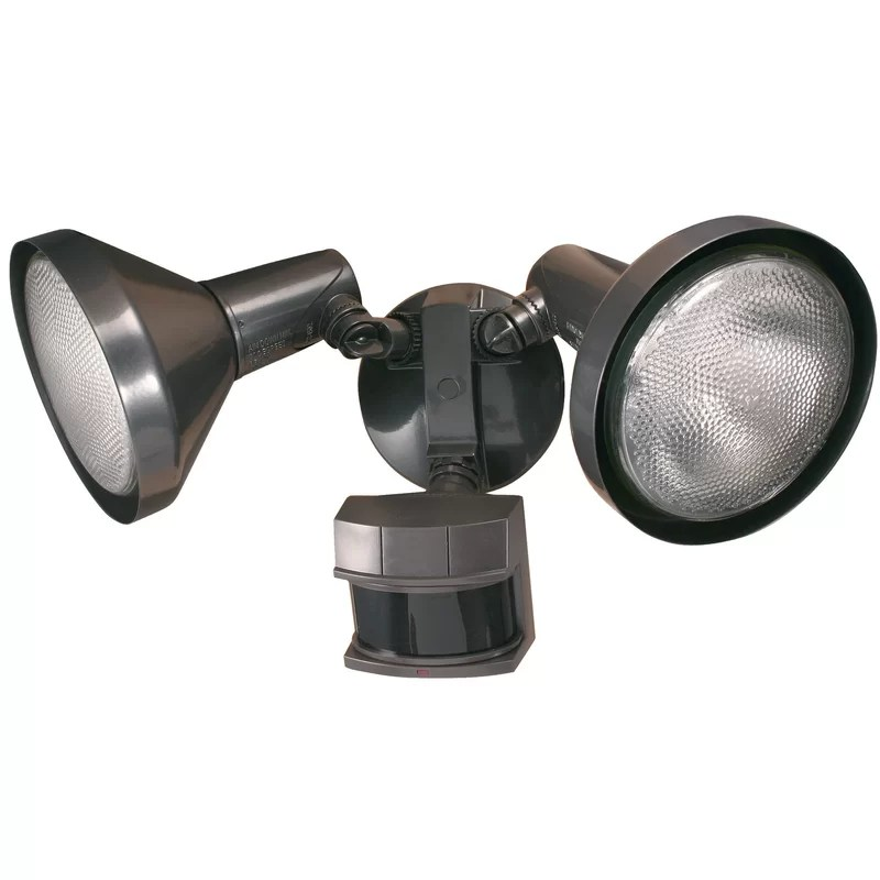 dusk to dawn outdoor security flood light with motion sensor