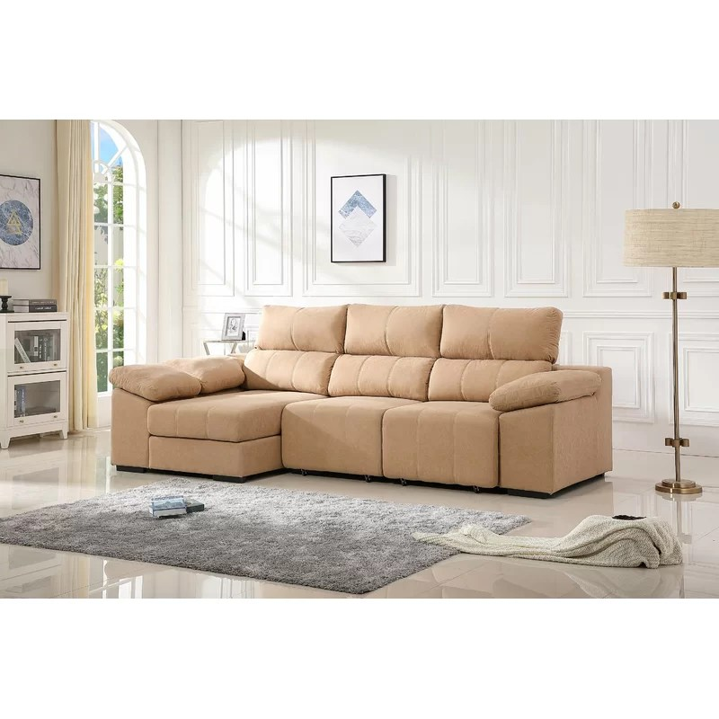 defries 111 sleeper sectional with ottoman