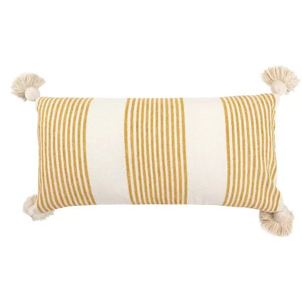 teal lumbar pillow