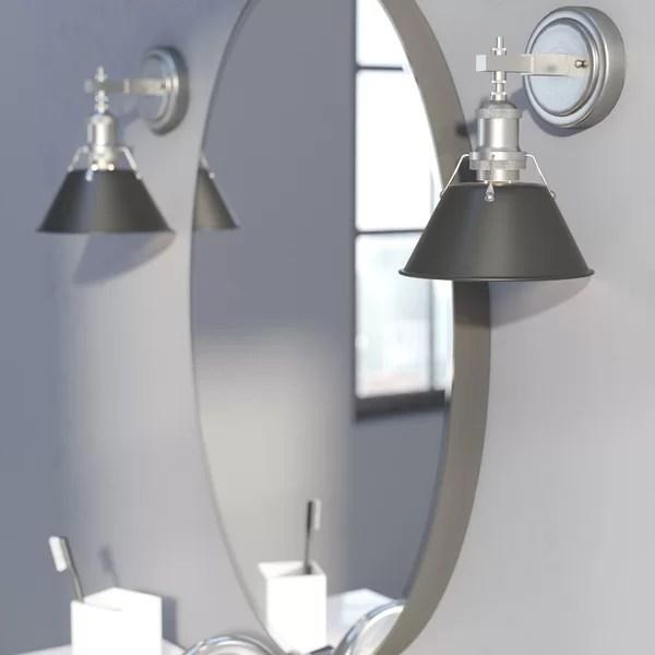 Trent Austin Design Weatherford 1-Light Bath Sconce ... on Wayfair Bathroom Sconces id=81370