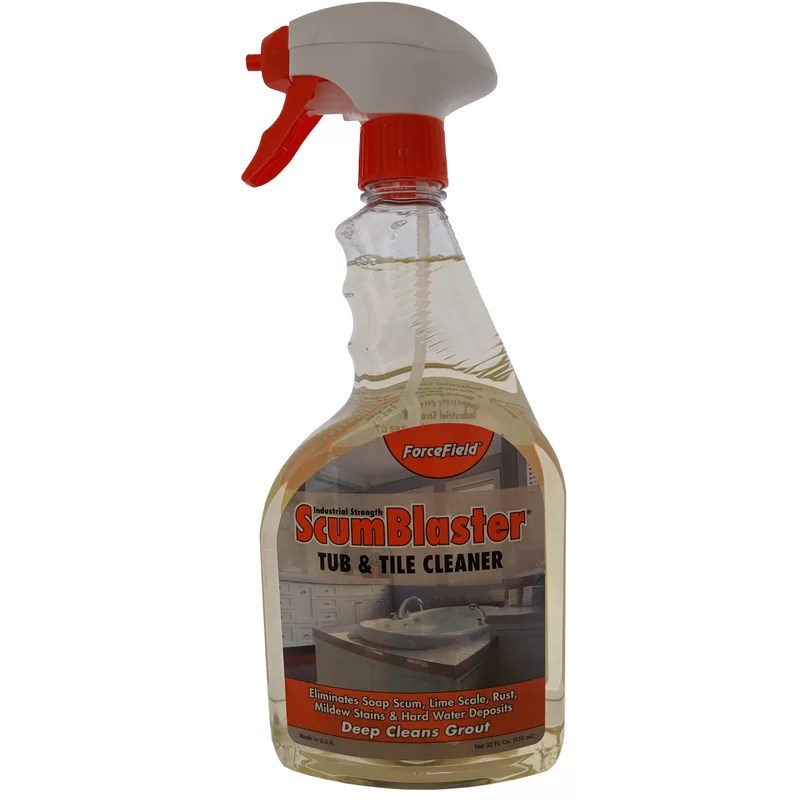 forcefield scumblaster tub and tile cleaner