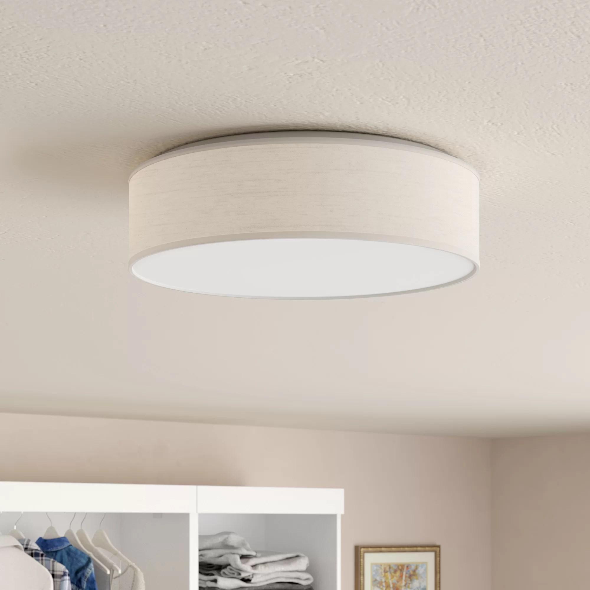 flush mount lighting wayfair