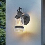 Breakwater Bay Bigham Farmhouse Outdoor Wall Lantern