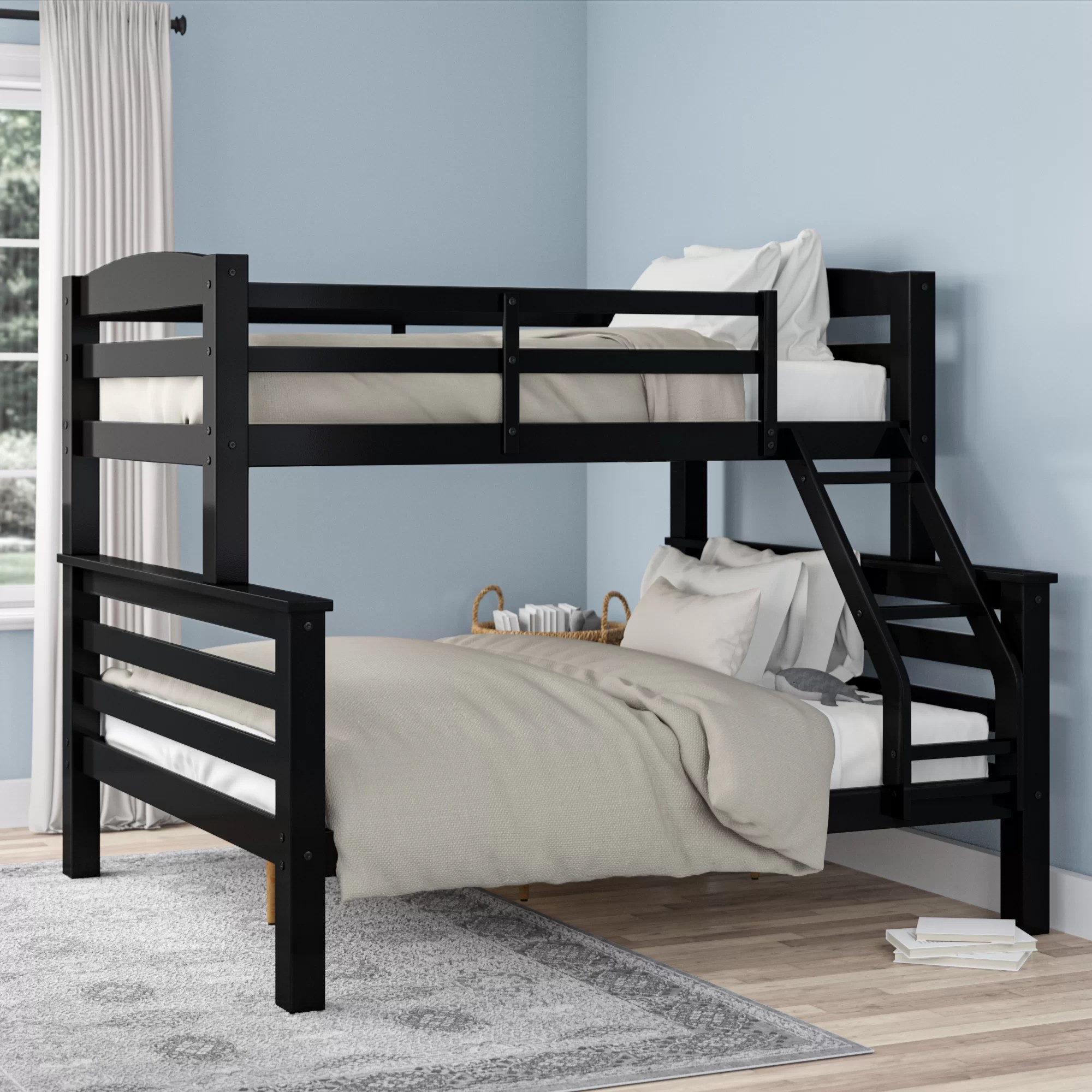 Harriet Bee Jailyn Twin Over Full Bunk Bed Reviews