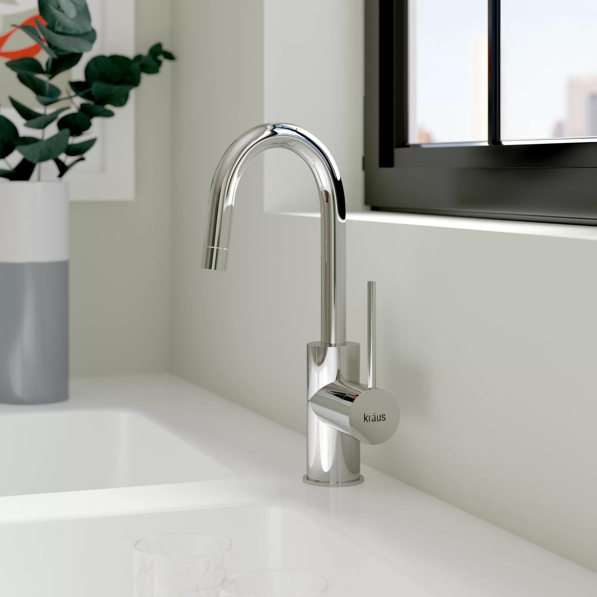 oletto single handle kitchen faucet