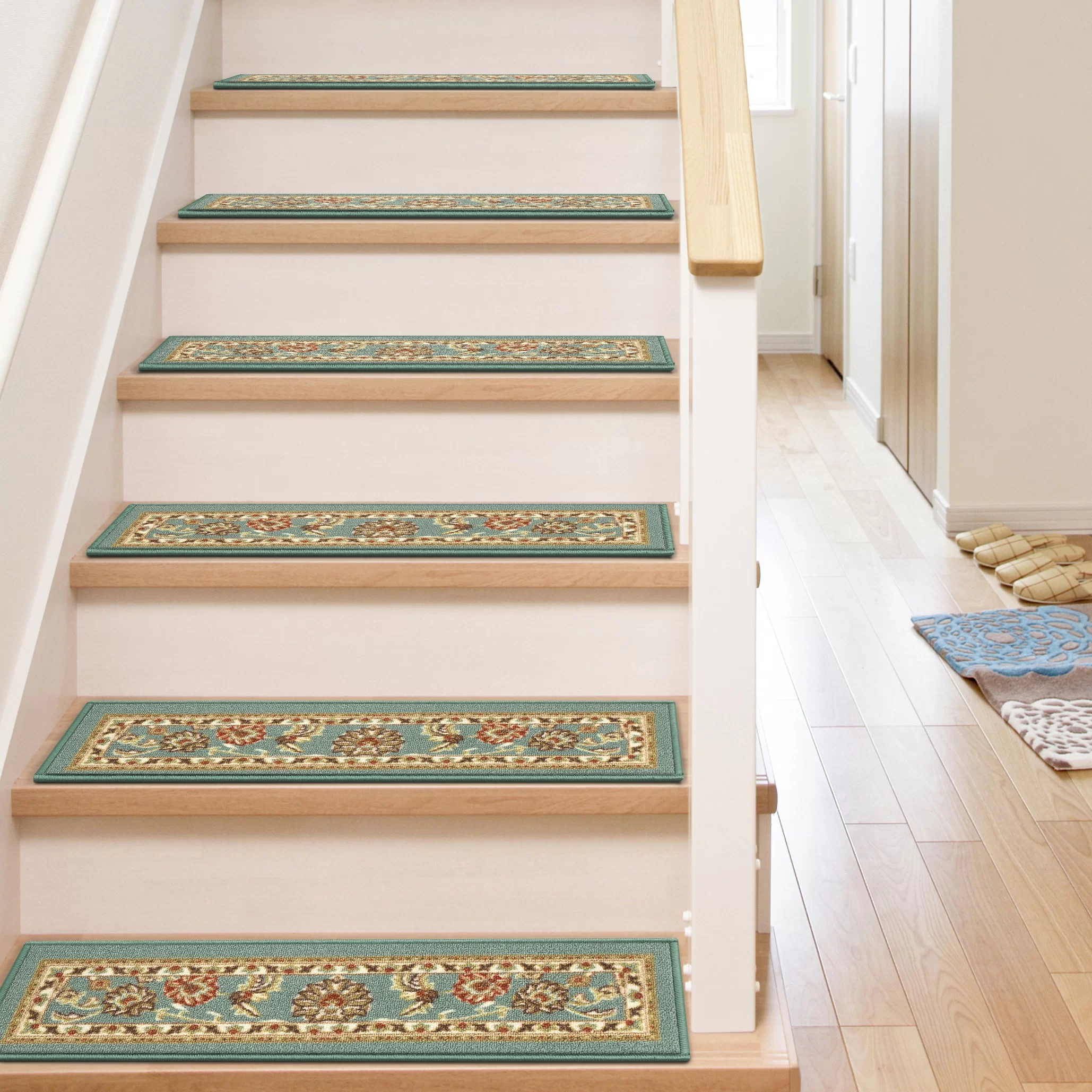 Well Woven Kings Court Oriental Non Skid Stair Tread Reviews | Oriental Carpet Stair Treads | Non Skid | Kings Court | Carpet Runners | Amazon | Stair Runner