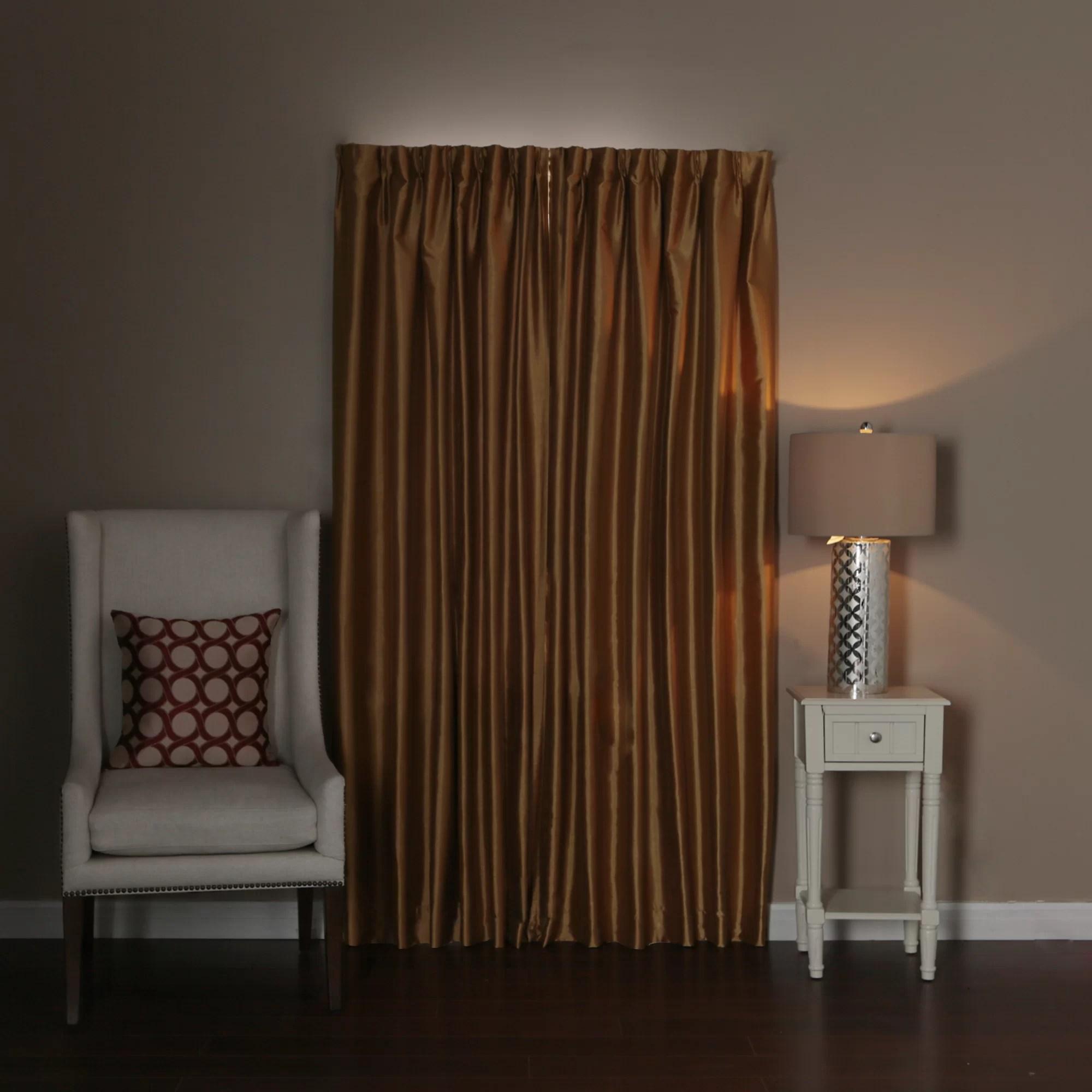 crouse perfect wraparound blackout single curtain rod