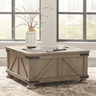 emiliano lift top coffee table with storage