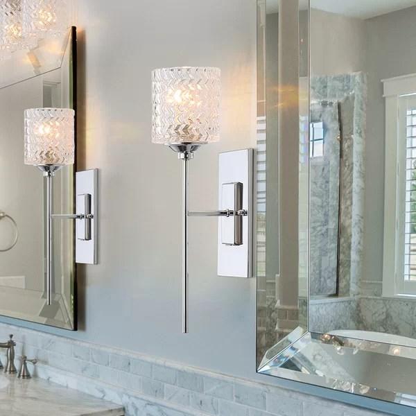 Mercer41 Anouk 1-Light Bath Sconce & Reviews   Wayfair on Wayfair Bathroom Sconces id=32487