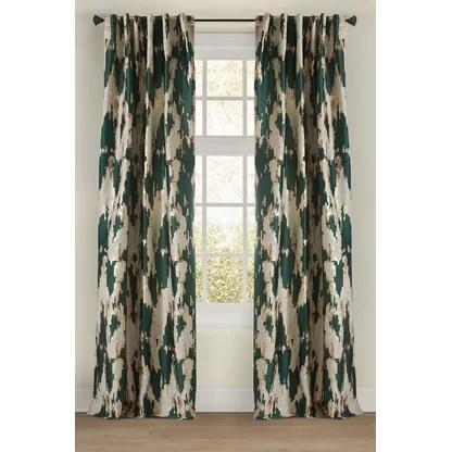luxury aqua curtains drapes perigold