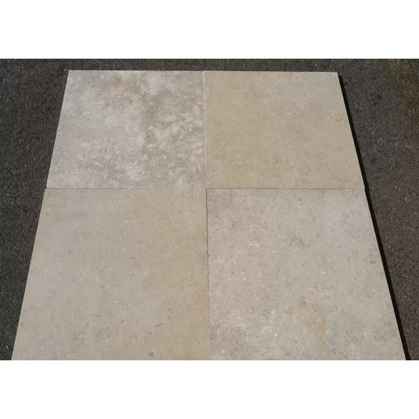 16x16 limestone field tile