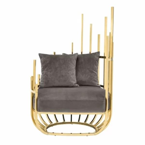 Eichholtz Santorini Art Deco Barrel Chair Wayfair