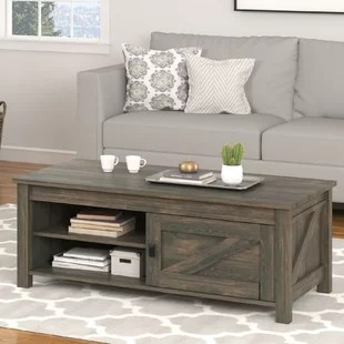 cottage & country coffee tables you'll love | wayfair