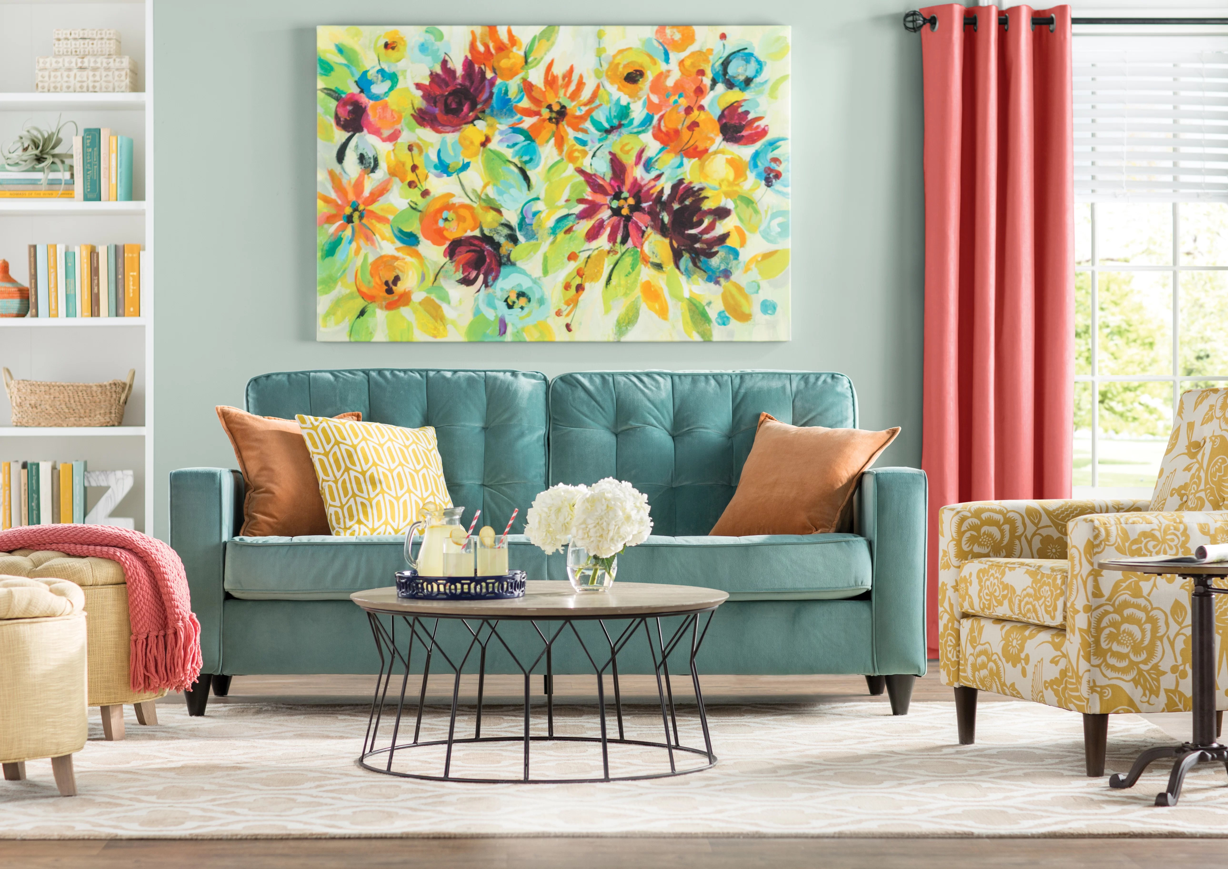 How To Decorate A Large Wall Wayfair