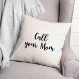 call mom pillow wayfair